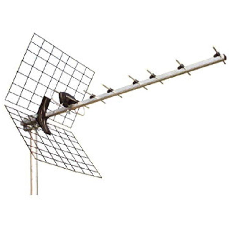 Antenna Yagi 10el 21-69 con riflettore in rete