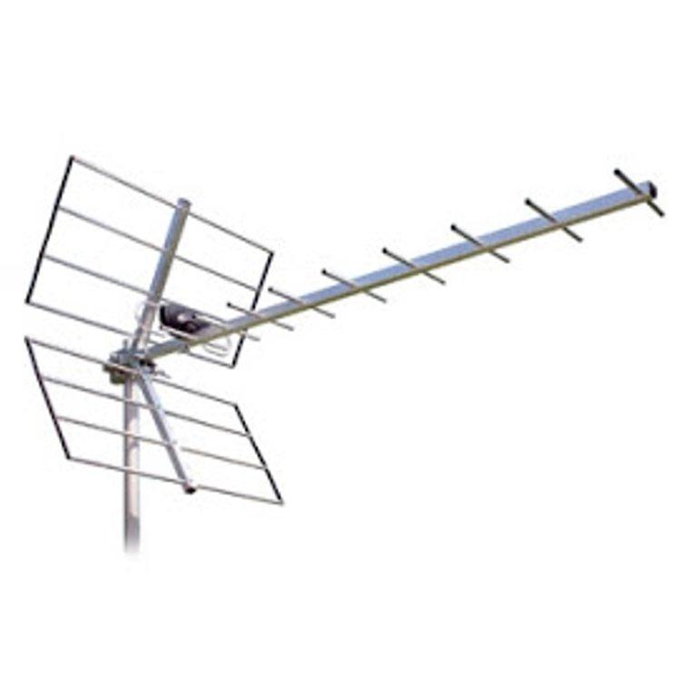 Antenna Yagi 10el 21-69 con riflettore 2el