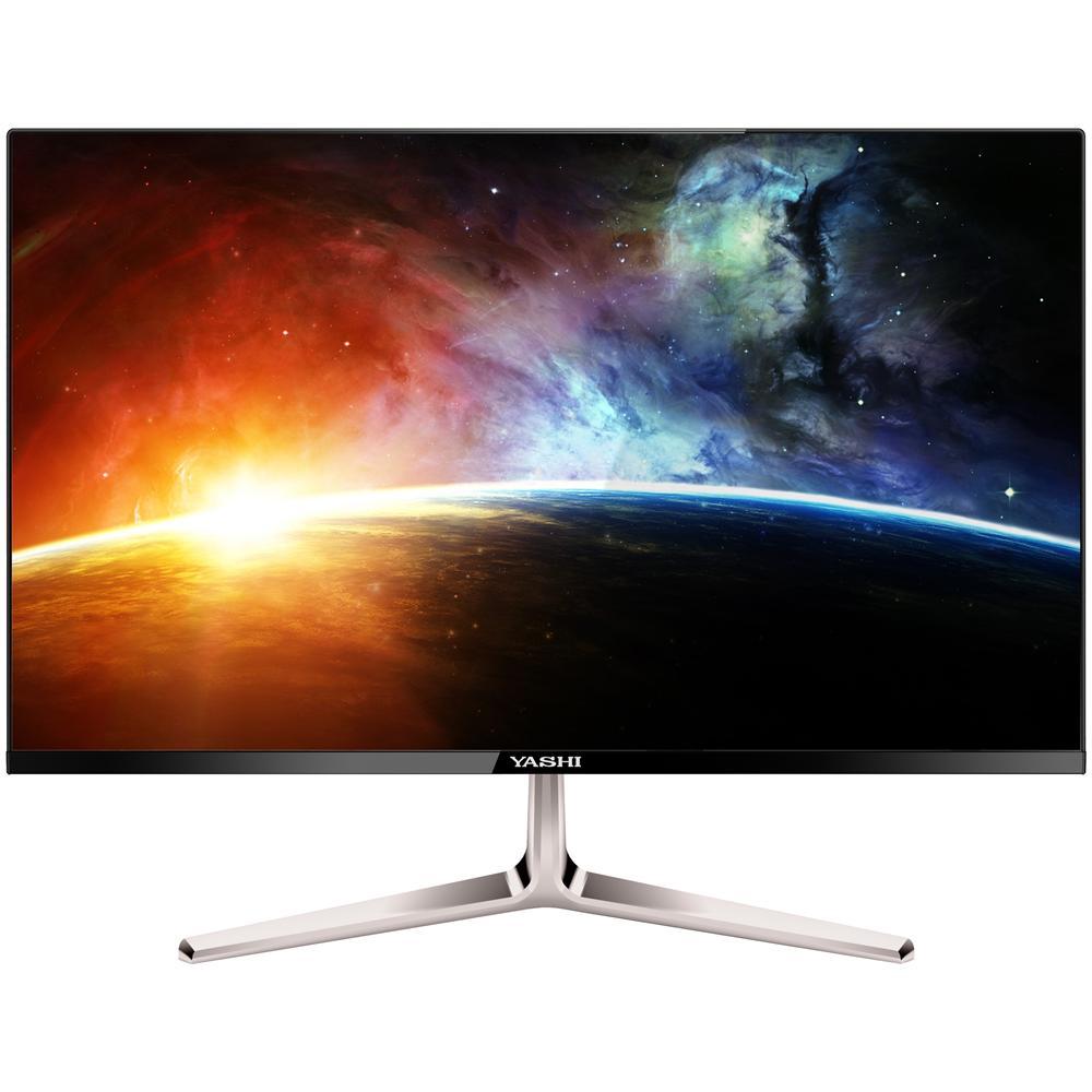 Monitor Pioneer YZ2407 LED IPS. Risoluzione 1920x1080 Full HD. Tempo di risposta 2 ms. Luminosità 350 cd / m². Rapporto di contrasto dinamico 50000000:1. Angolo di visualizzazione orizzontale e verticale di 178° Connessioni : 1 x VGA, 1 x HDMI. 2 altoparlanti integrati da 4 W di potenza.